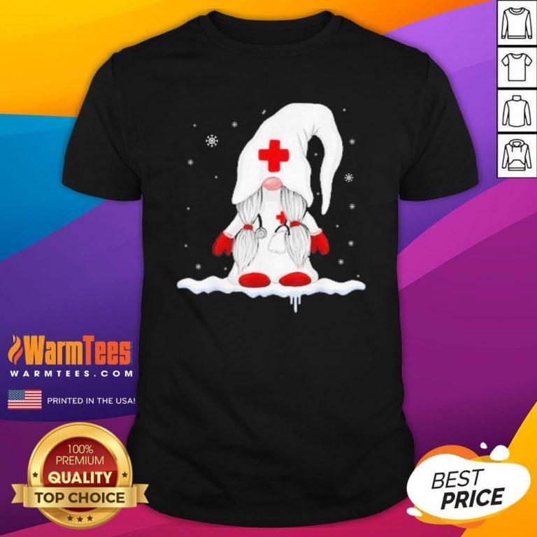 Premium Santa Claus Nurse Shirt - Design By Warmtees.com