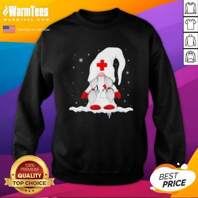 Premium Santa Claus Nurse Sweatshirt - Design By Warmtees.com