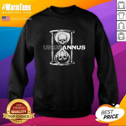 Premium Unus Annus Merch Hourglass Crewneck Sweatshirt - Design By Warmtees.com