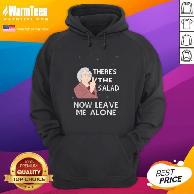 Pretty There's The Salad Now Leave Me Alone Christmas Hoodie - Design By Warmtees.com