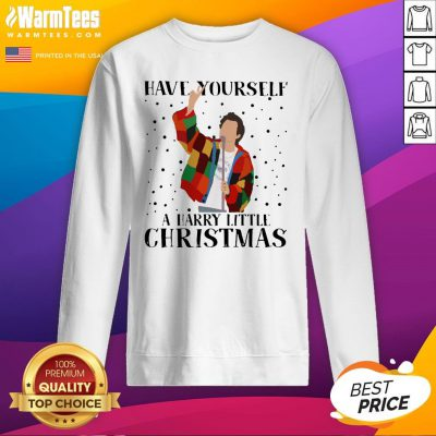 Pretty Tomlinson Have Yourself A Harry Little Christmas Sweat Sweatshirt - Design By Warmtees.com