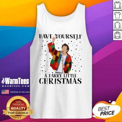 Pretty Tomlinson Have Yourself A Harry Little Christmas Sweat Tank Top - Design By Warmtees.com