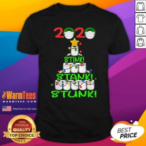 Pro 2020 Stink Stank Stunk Funny Quarantine Ugly Christmas Mask Shirt - Design By Warmtees.com