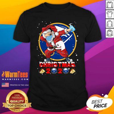 Pro Buffalo Sabres Funny Santa Claus Dabbing Christmas 2020 Shirt - Design By Warmtees.com