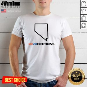 Super Nice 2020 Nevada Elections Shirt - Design By Warmtees.com