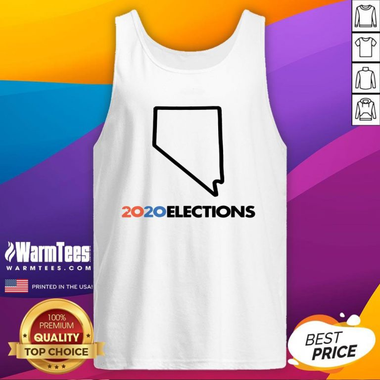 Super Nice 2020 Nevada Elections Tank Top - Design By Warmtees.com
