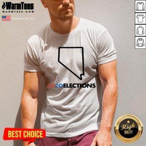 Super Nice 2020 Nevada Elections V-neck - Design By Warmtees.com