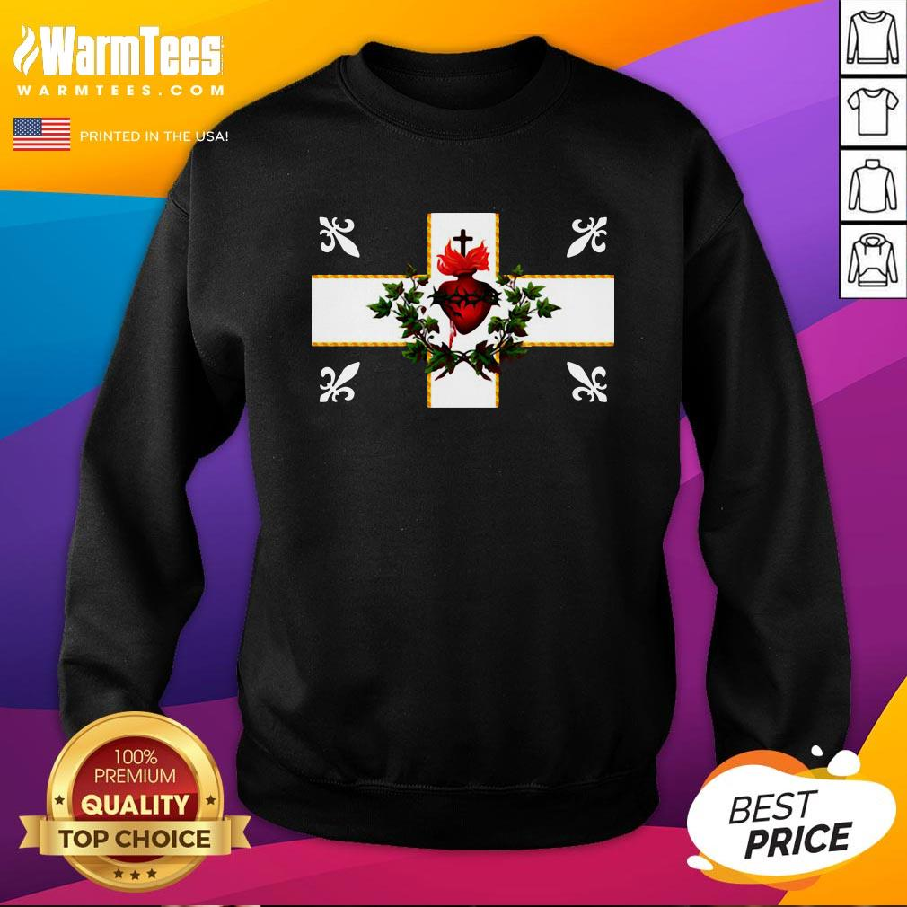 Top Carillon Sacré Coeur Canada Sweatshirt - Design By Warmtees.com