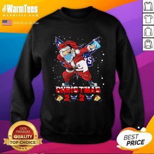 Top Charlotte Hornets Funny Santa Claus Dabbing Christmas 2020 Sweatshirt - Design By Warmtees.com