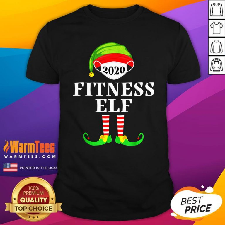 Top Fitness Elf Matching Christmas Group Party Pjs Family 2020 Shirt - Design By Warmtees.com