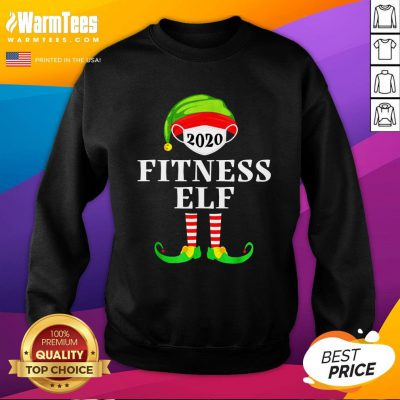 Top Fitness Elf Matching Christmas Group Party Pjs Family 2020 Sweatshirt - Design By Warmtees.com