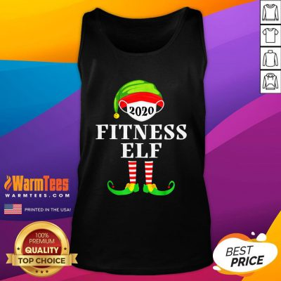 Top Fitness Elf Matching Christmas Group Party Pjs Family 2020 Tank Top - Design By Warmtees.com