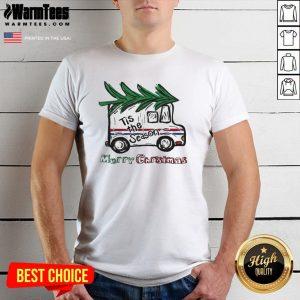 Top Merry Christmas Tis The Season Shirt - Design By Warmtees.com