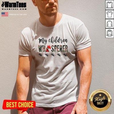 Top My Children Whisperer V-neck - Design By Warmtees.com