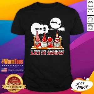 Wonderful Gnomies Let Is Snow Christmas Shirt - Design By Thelasttees.com
