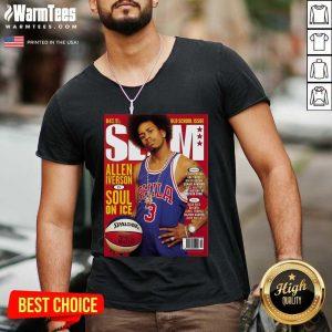 Best Slam Magazine Covers V-neck - Design By Warmtees.com