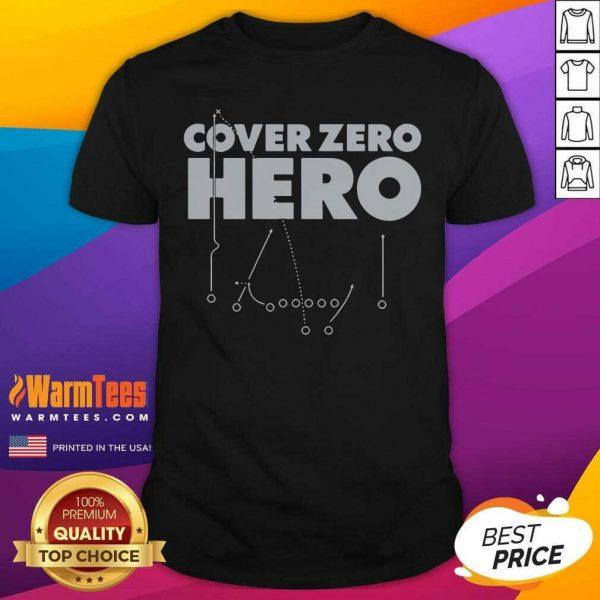 Cover Zero Hero Las Vegas Football Shirt - Design By Warmtees.com