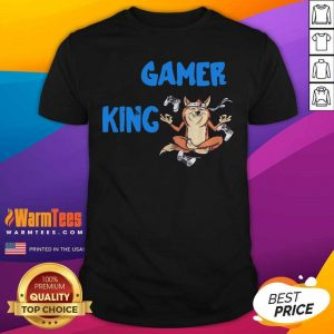 Gamer King Console Gaming PC Computer Video Games Shirt - Design By Warmtees.com