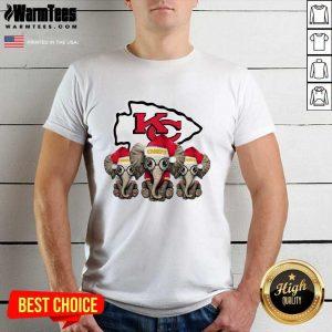 Kansas City Chiefs Elephant Christmas Shirt - Design By Warmtees.com