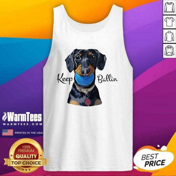 Keep Ballin Tank Top - Design By Warmtees.com
