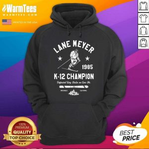 Lane Meyer 1985 K 12 Champion Hoodie - Design By Warmtees.com