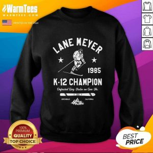 Lane Meyer 1985 K 12 Champion SweatShirt - Design By Warmtees.com