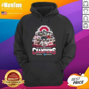 Ohio State 2020 Big Ten Conference Champions Hoodie - Design By Warmtees.com