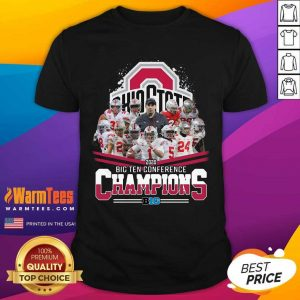 Ohio State 2020 Big Ten Conference Champions Shirt - Design By Warmtees.com