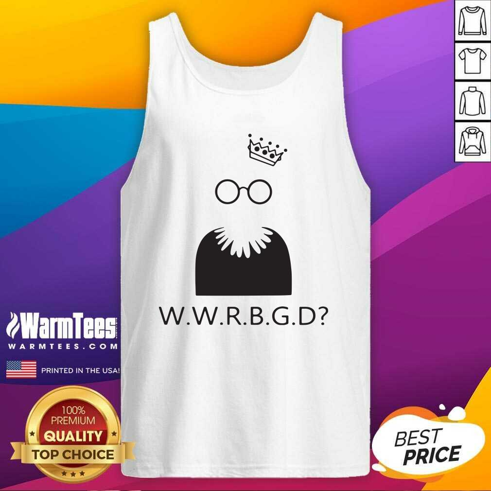Ruth Bader Ginsburg W W R B G D Tank Top  - Design By Warmtees.com
