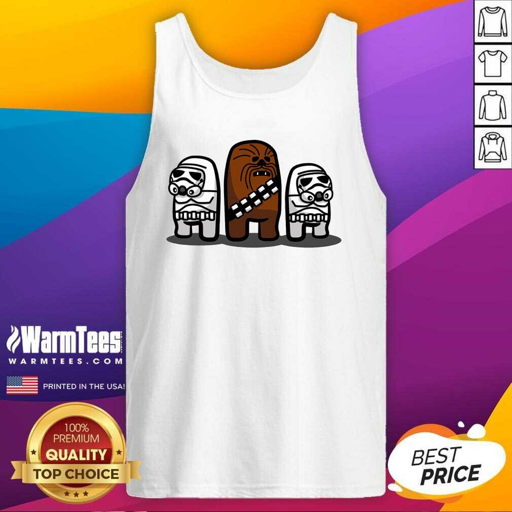 Star Wars Imposter Troopers Among Us Tank Top  - Design By Warmtees.com
