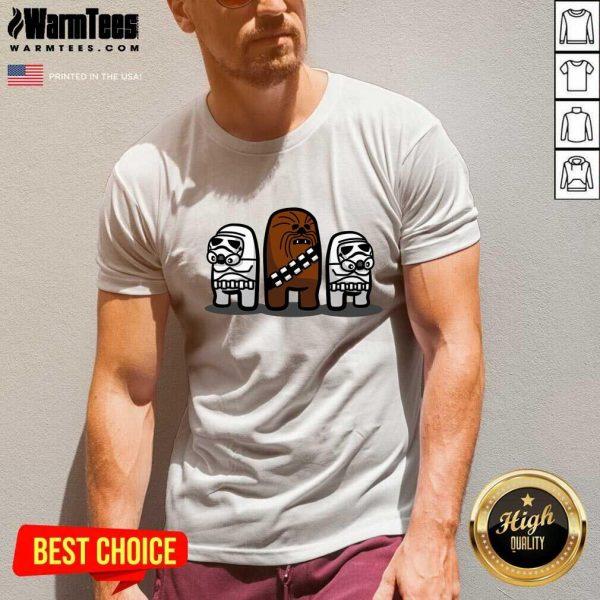 Star Wars Imposter Troopers Among Us V-neck - Design By Warmtees.com