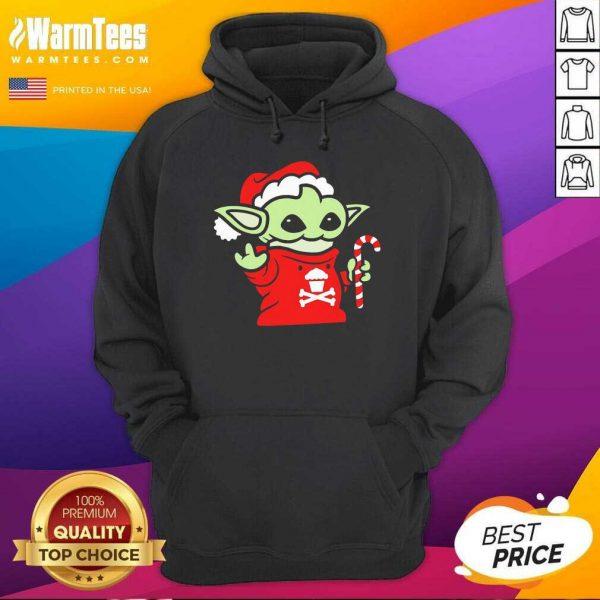 Santa Baby Yoda Christmas Hoodie - Design By Warmtees.com
