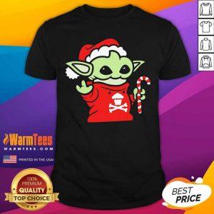 Santa Baby Yoda Christmas Shirt - Design By Warmtees.com