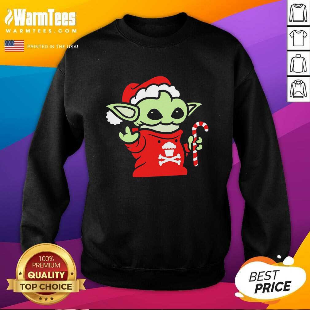 Santa Baby Yoda Christmas SweatShirt  - Design By Warmtees.com
