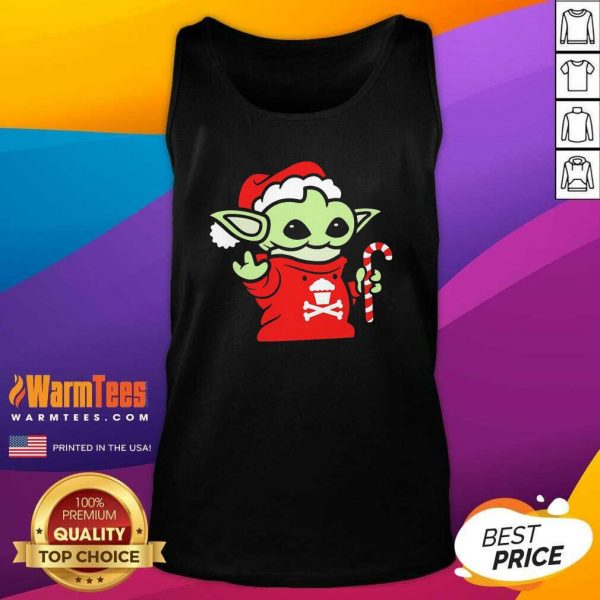 Santa Baby Yoda Christmas Tank Top - Design By Warmtees.com