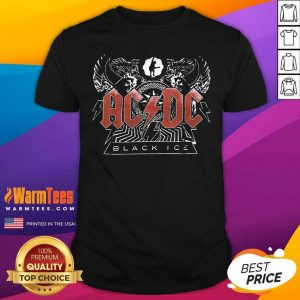 AC DC Rock And Roll Band Black Ice Shirt - Design By Warmtees.com