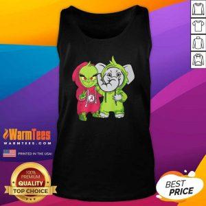 Baby Grinch Baby Elephant Peace Alabama Crimson Tide Tank Top - Design By Warmtees.com