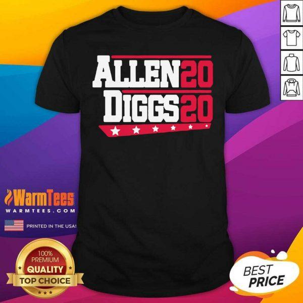 Buffalo Bills Allen Diggs 2020 Shirt - Design By Warmtees.com