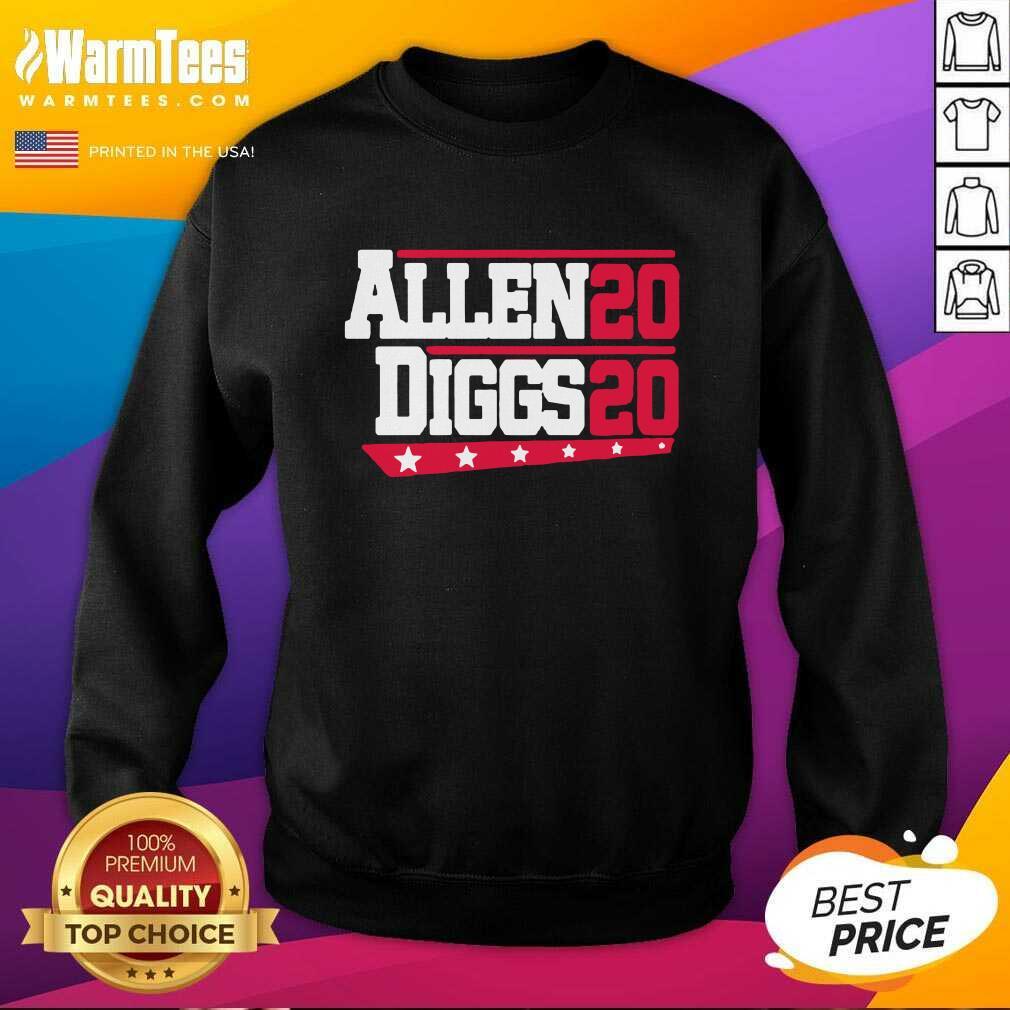 Buffalo Bills Allen Diggs 2020 SweatShirt  - Design By Warmtees.com