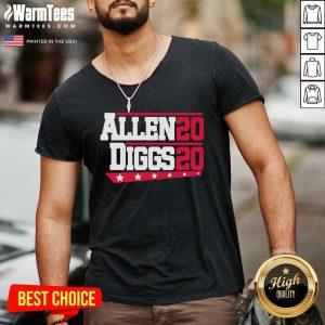 Buffalo Bills Allen Diggs 2020 V-neck - Design By Warmtees.com