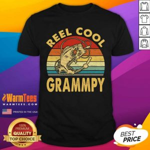 Fishing Reel Cool Grandpa Vintage Shirt - Design By Warmtees.com