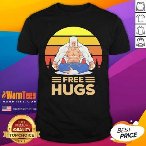 Free Hugs Vintage Shirt - Design By Warmtees.com