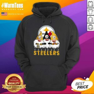 Gnomes Pittsburgh Steelers Christmas Hoodie - Design By Warmtees.com