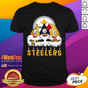 Gnomes Pittsburgh Steelers Christmas Shirt - Design By Warmtees.com