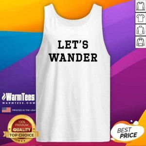 Let's Wanderlogo Tank Top - Design By Warmtees.com
