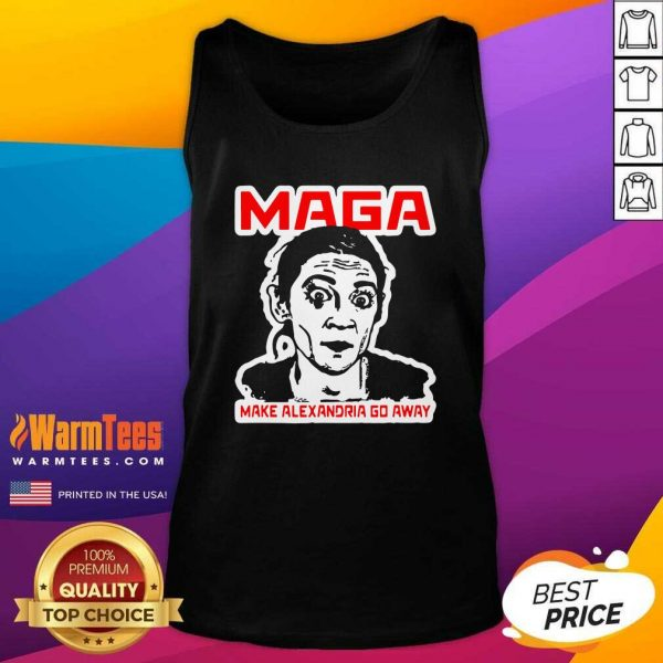 Make Alexandria Go Away Democratic Politician Tank Top - Design By Warmtees.com