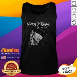 Mary J Blige My Life Tracklist Tank Top - Design By Warmtees.com