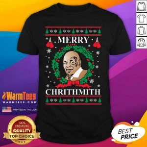 Mike Tyson Merry Chrithmith Ugly Christmas Shirt - Design By Warmtees.com