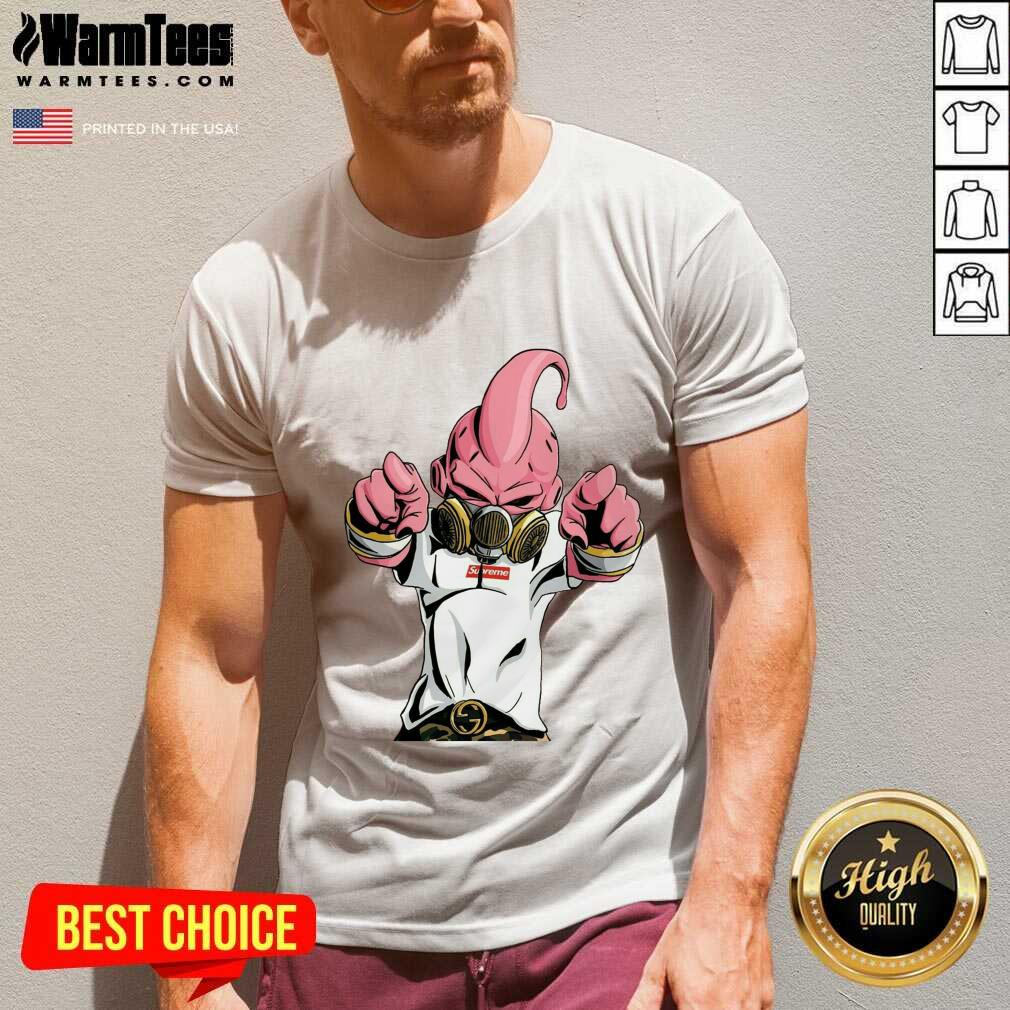Supreme Majin Buu V-neck - Design By Warmtees.com