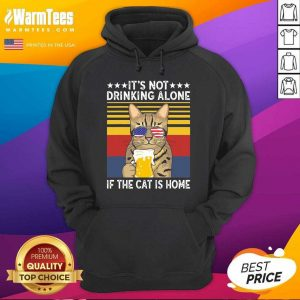 All I Need Is Beer And My Cat Its Too Peopley Outside Vintage Hoodie - Design By Warmtees.com